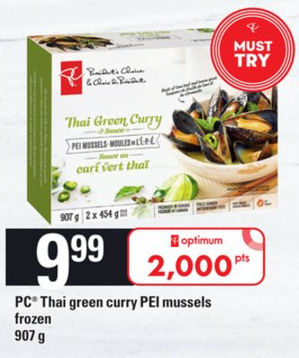 PC Thai Green Curry Pei Mussels - 907