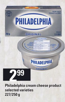 Philadelphia Cream Cheese Product - 227/250 g