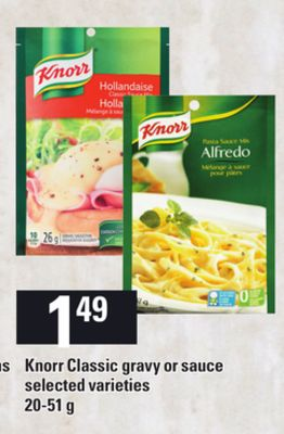 Knorr Classic Gravy Or Sauce - 20-51 g