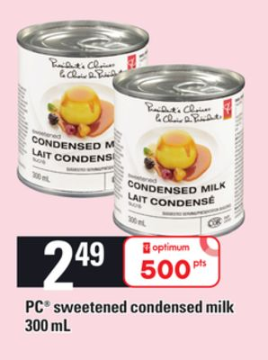 PC Sweetened Condensed Milk - 300 mL