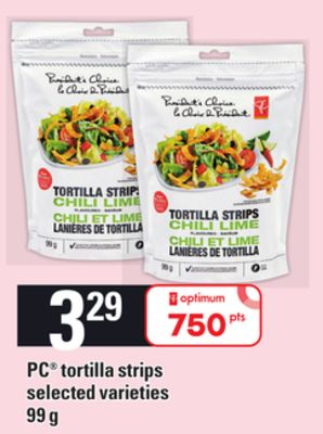 PC Tortilla Strips - 99 g