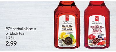 PC Herbal Hibiscus Or Black Tea.1.75 L