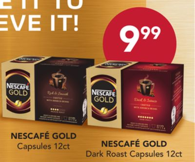 Nescafé Gold - 12ct