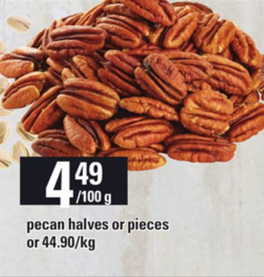 Pecan Halves Or Pieces
