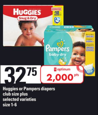 Huggies Or Pampers Diapers - Size 1-6