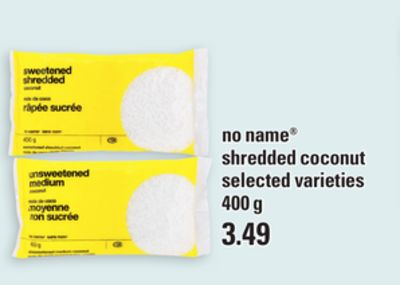 No Name Shredded Coconut - 400 g
