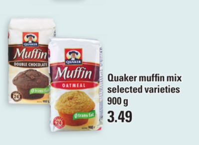Quaker Muffin Mix - 900 g