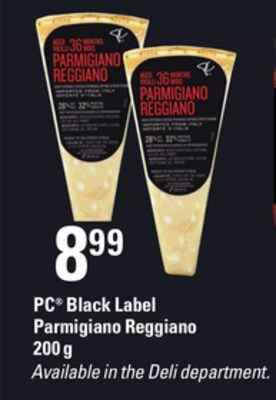 PC Black Label Parmigiano Reggiano - 200 g