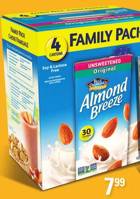 Shelf Stable Almond Breeze.4x946ml