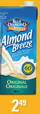 Shelf Stable Almond Breeze - 946ml