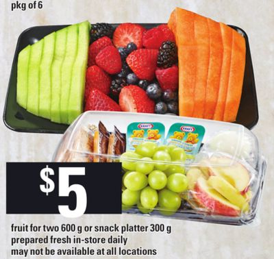 Fruit For Two - 600 g Or Snack Platter - 300 g