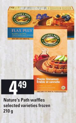 Nature's Path Waffles - 210 g