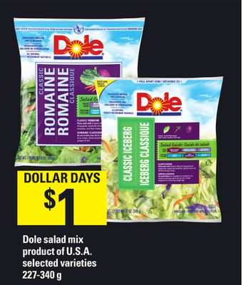 Dole Salad Mix - 227-340 g