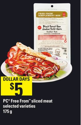 PC Free From Sliced Meat - 175 g