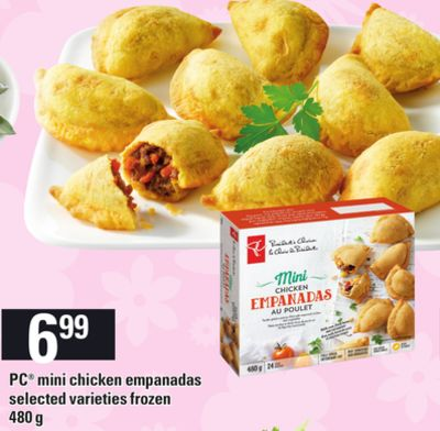 PC Mini Chicken Empanadas - 480 g