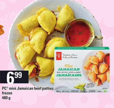 PC Mini Jamaican Beef Patties.480 g