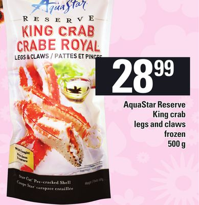 Aquastar Reserve King Crab Legs And Claws - 500 g