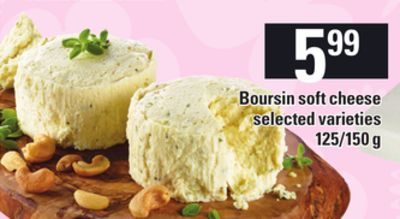 Boursin Soft Cheese.125/150 g