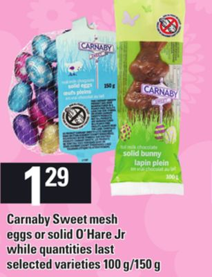 Carnaby Sweet Mesh Eggs Or Solid O'hare Jr - 100 G/150 g