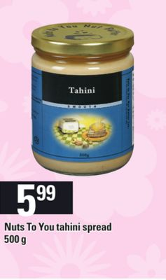 Nuts To You Tahini Spread.500 g