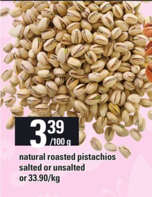 Natural Roasted Pistachios