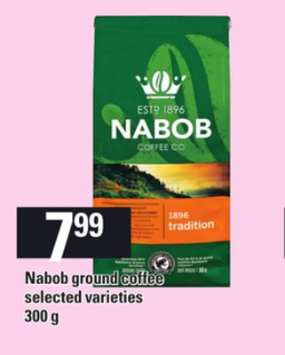 Nabob Ground Coffee - 300 g