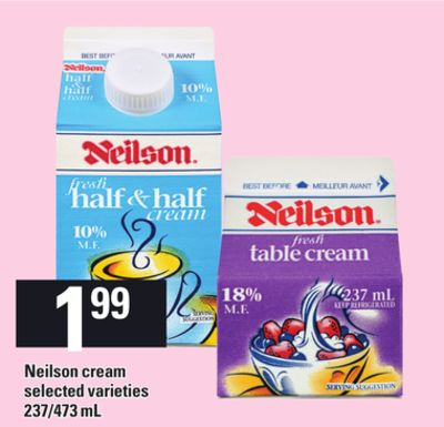 Neilson Cream - 237/473 mL