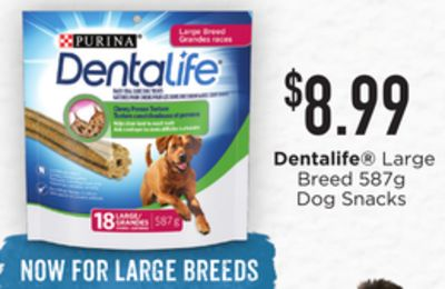 Dentalife Large Breed Dog Snacks - 587g