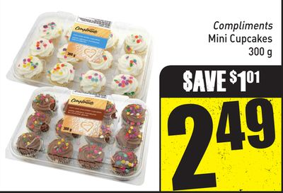 Compliments Mini Cupcakes 300 g