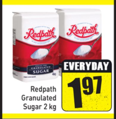 Redpath Granulated Sugar 2 Kg