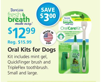 Tropiclean Oral Kits For Dogs