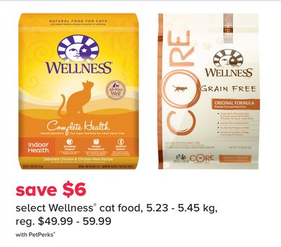 Select Wellness Cat Food