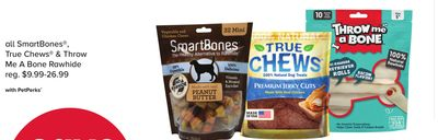All Smartbones - True Chews & Throw Me A Bone Rawhide