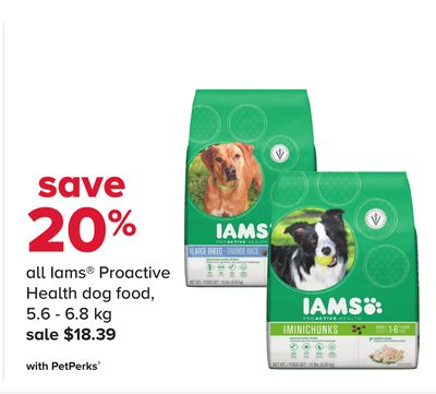 All Iams Proactive Health Dog Food