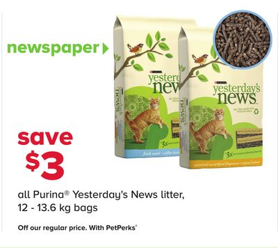 All Purina Yesterday's News Litter