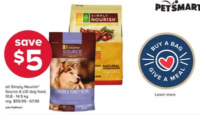 All Simply Nourish Source & Lid Dog Food
