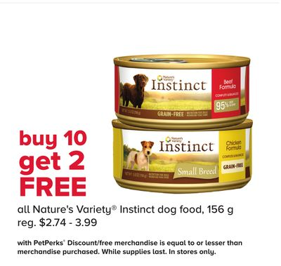 All Nature's Variety Instinct Dog Food