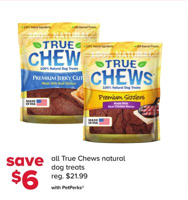 All True Chews Natural Dog Treats