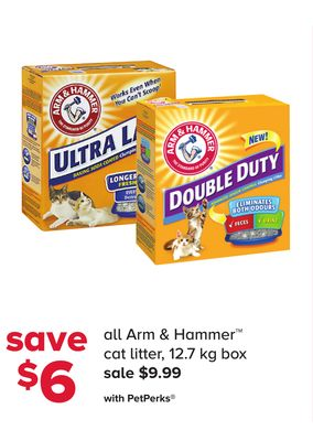 All Arm & Hammer Cat Litter