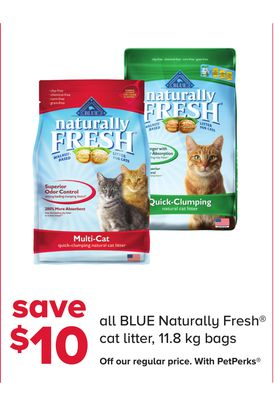 All Blue Naturally Fresh Cat Litter