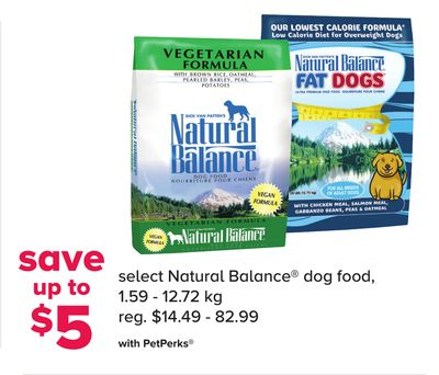 Select Natural Balance Dog Food