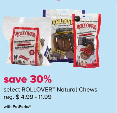 Select Rollover Natural Chews