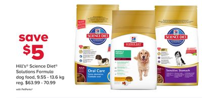Hill's Science Diet Solutions Formula Dog Food