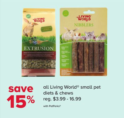 All Living World Small Pet Diets & Chews