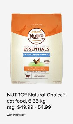 Nutro Natural Choice Cat Food