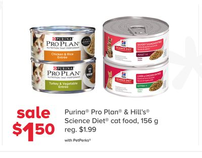 Purina Pro Plan & Hill's Science Diet Cat Food