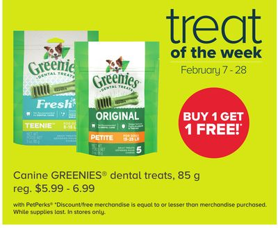 Canine Greenies Dental Treats