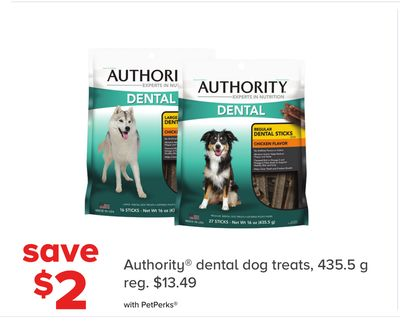 Authority Dental Dog Treats