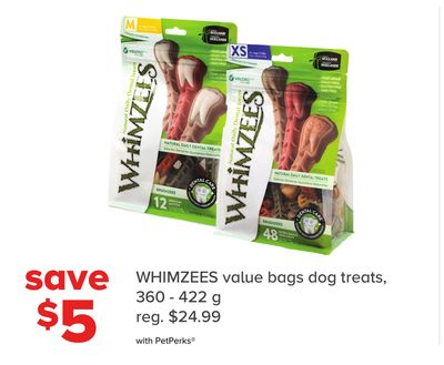 Whimzees Value Bags Dog Treats