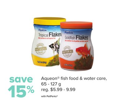 Aqueon Fish Food & Water Care
